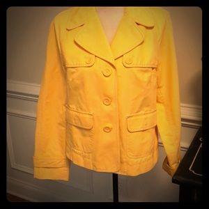 Loft jacket size 8
